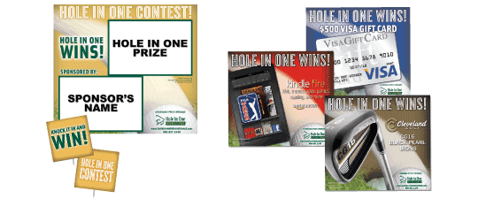 Hole In One Insurance - Free Signs