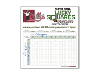 Lucky Squares Promotion