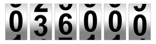 Odometer Match Contest