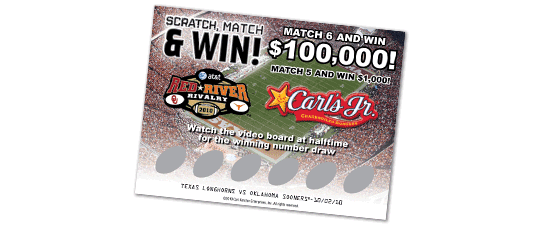 Scratch Match & Win Contest