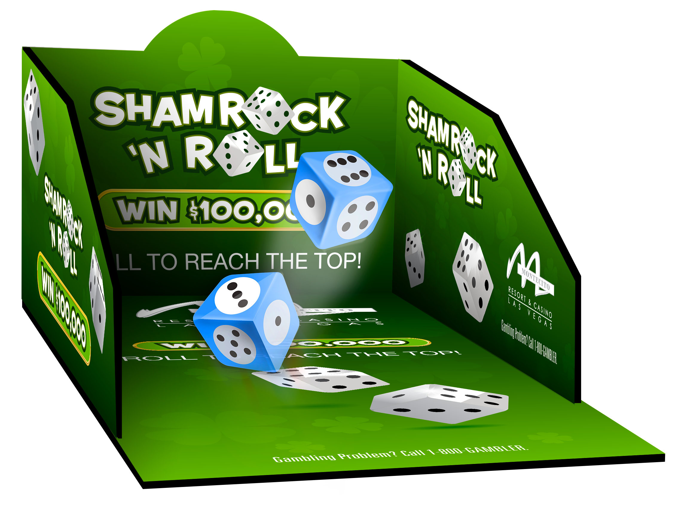 Dice Roll Box Shamrock-N-Roll