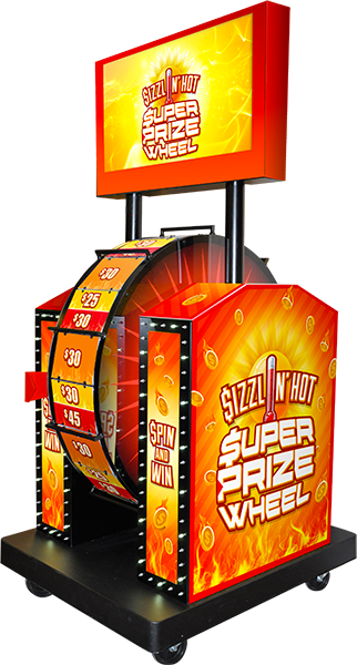 Sizzlin' Hot Super Prize Wheel