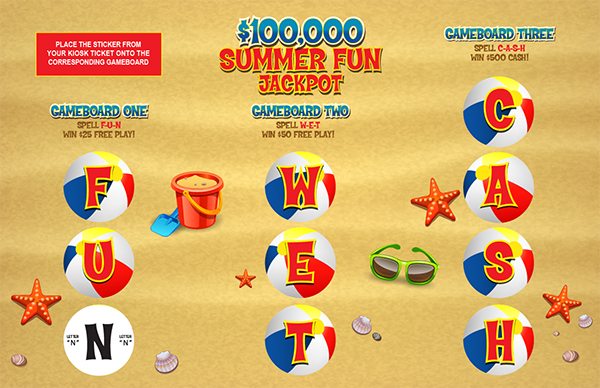 Summer Fun Jackpot Collect & Win Game