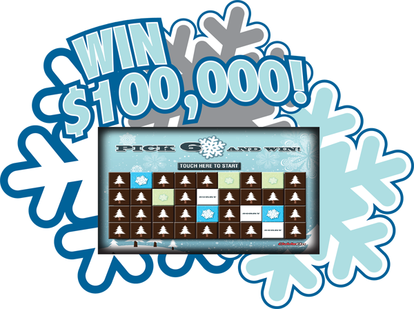 Flurries of Fortune Video Scratch and Win