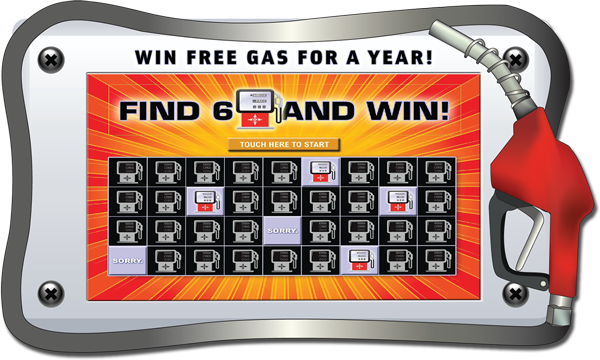 Great Gas Giveaway Video Scratch and Win
