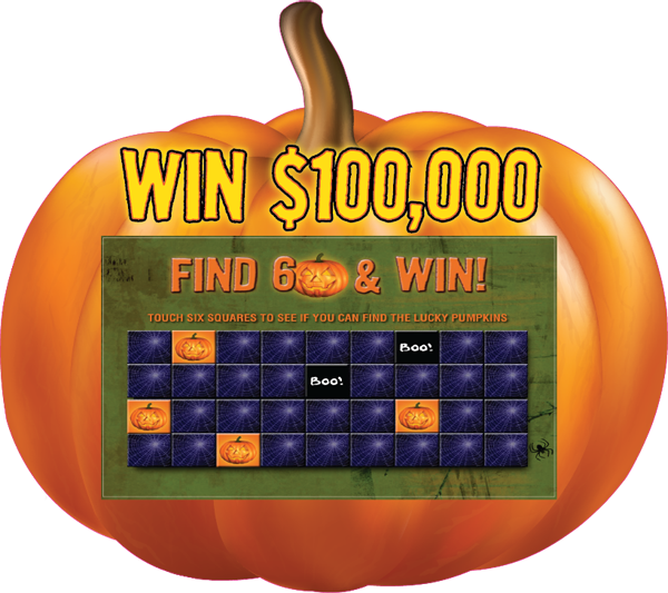 Lucky Pumpkin Pick Hot Seat Tablet Promotion