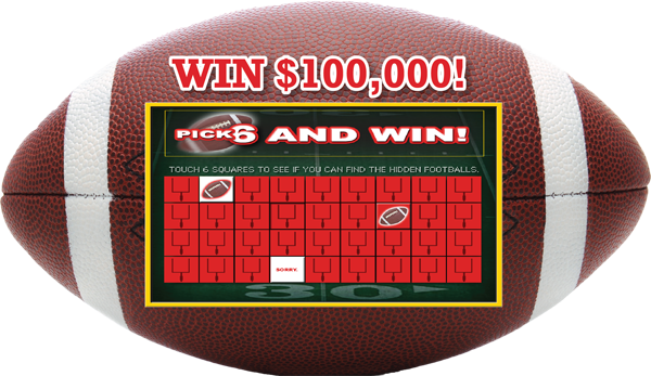 Pick 6 Football Hot Seat Tablet Promotion