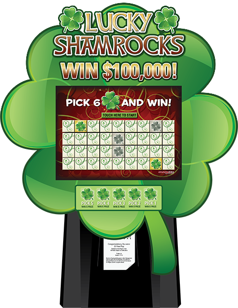 Lucky Shamrocks Lite Kiosk