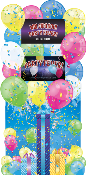 Party Fever Deluxe Kiosk v2 Blue