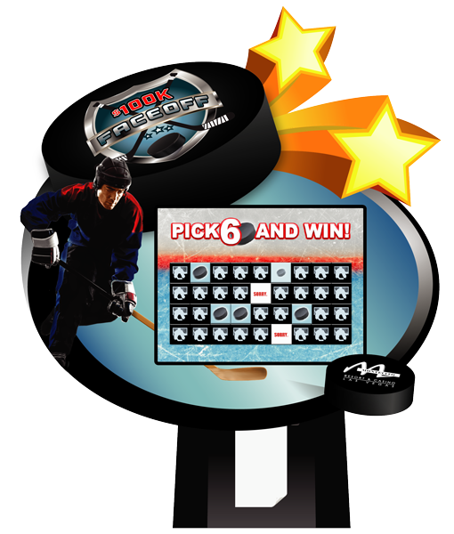 Pick 6 Hockey Lite Kiosk