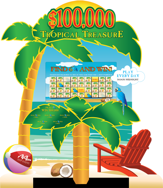 Tropical Treasure Super Kiosk
