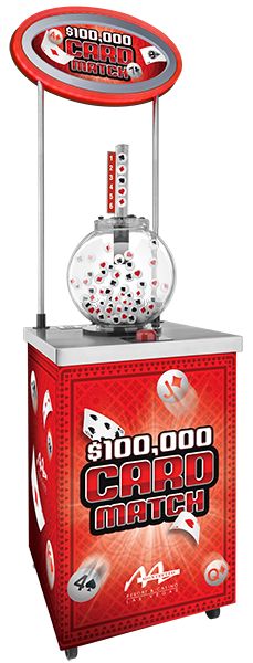 Card Match Zoom Ball - Red