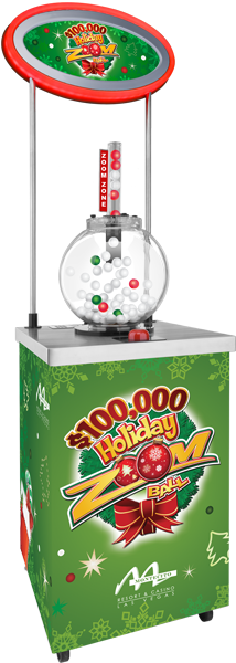 Holiday Zoom Ball