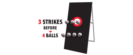 Balls and Strikes Baseball Contest