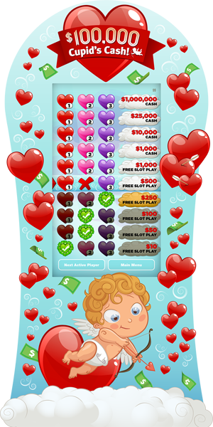 Cupid's Cash e-Game Board