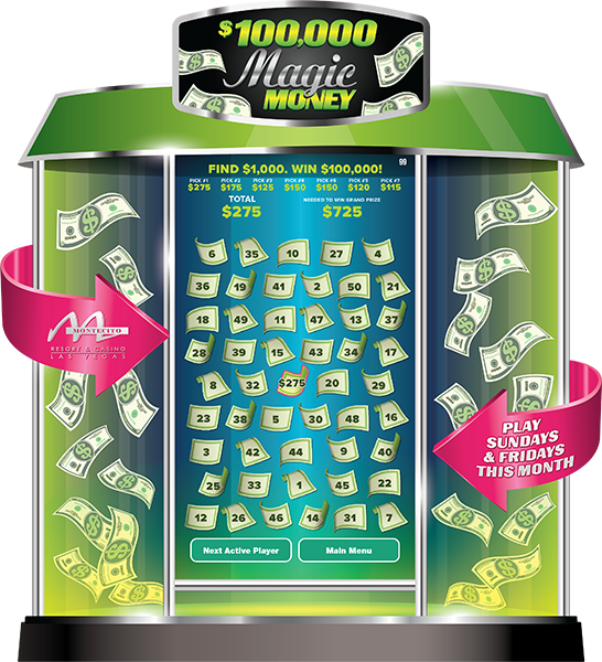 Magic Money Machine e-Game Board