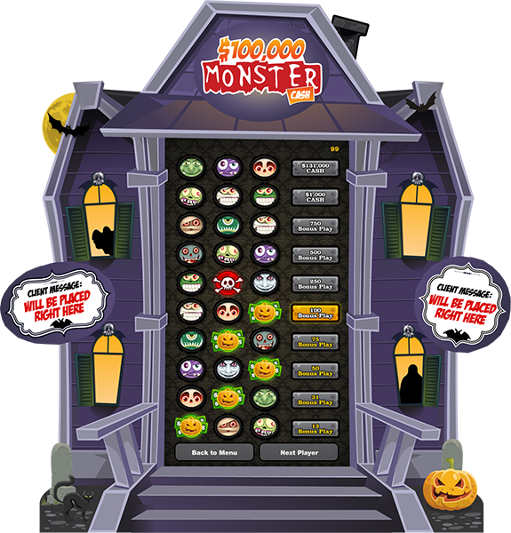 Monster Cash 80-inch e-Game Board