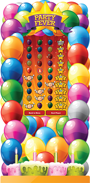 Party Fever e-Game Board