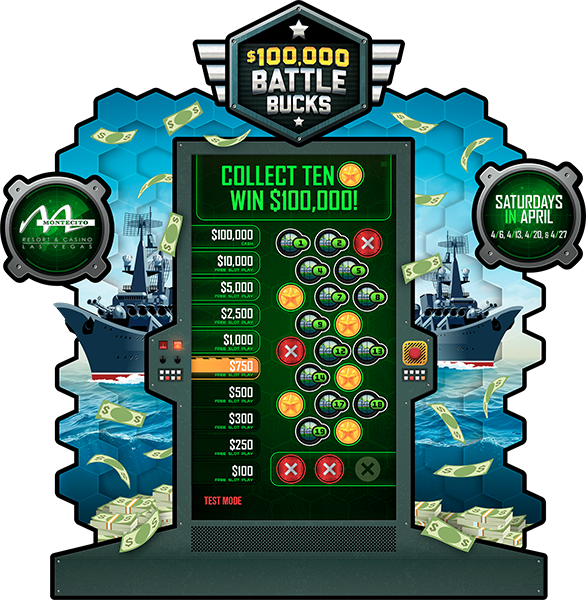 Battle Bucks e-Game Board
