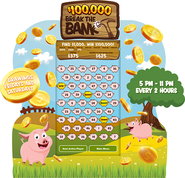 Break the Bank e-Game Board