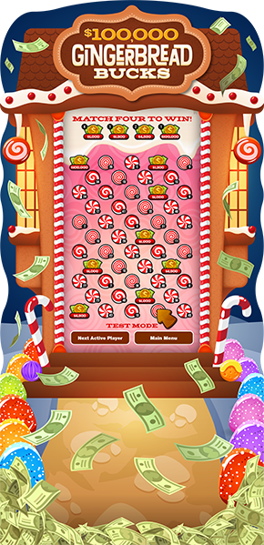 Gingerbread Bucks e-Game Board