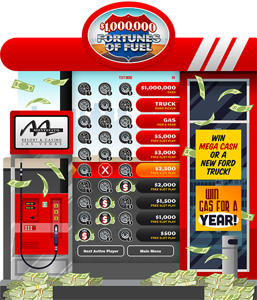 Fortunes of Fuel e-Game Board