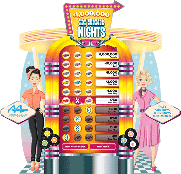 Hot Summer Nights e-Game Board