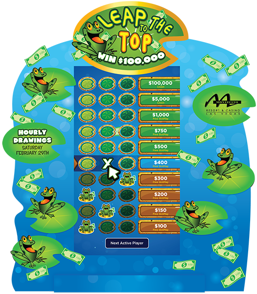 Leap to the Top electronic-Game Board