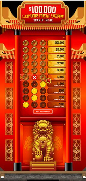 Lunar New Year 50-in e-Game Board