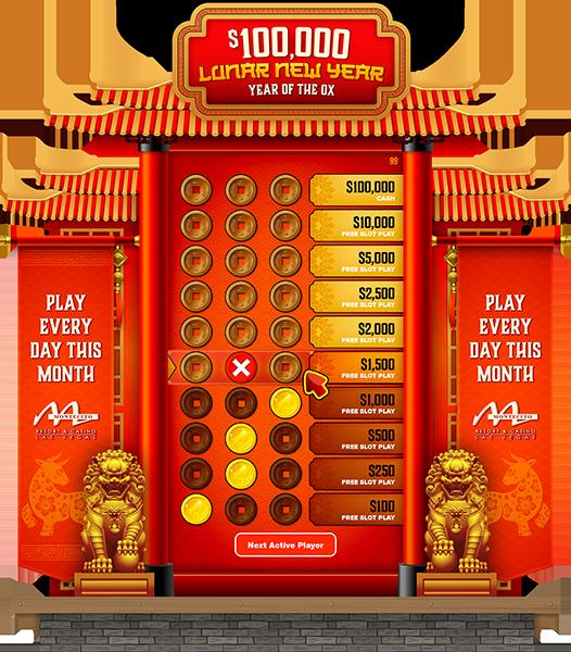 Lunar New Year e-Game Board