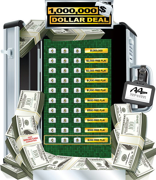 $1,000,000 Deal e-Game Board Promotion