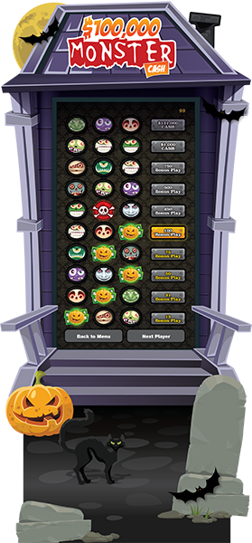 Monster Cash 50-inch e-Game Board