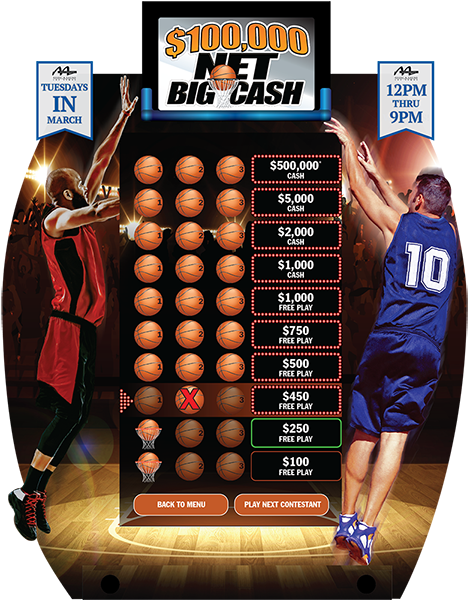 Net Big Cash e-Game Board