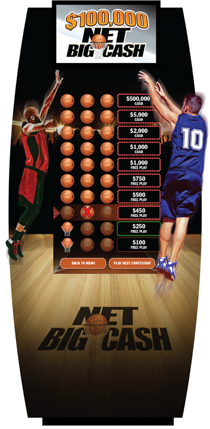 Net Big Cash 50-inch e-Game Board