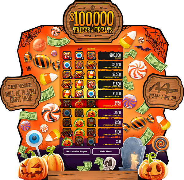 Tricks & Treats e-Game Board