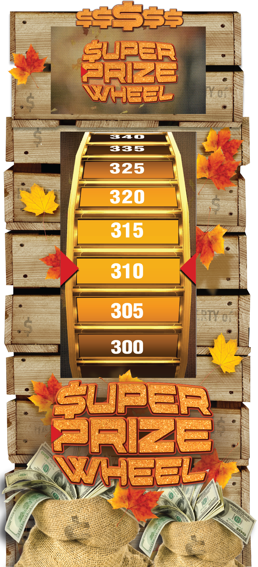 Autumn Super Prize Wheel Virtual