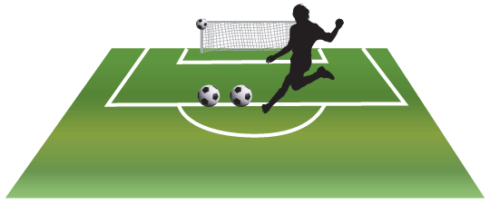 Goal Post Kick Soccer Contest