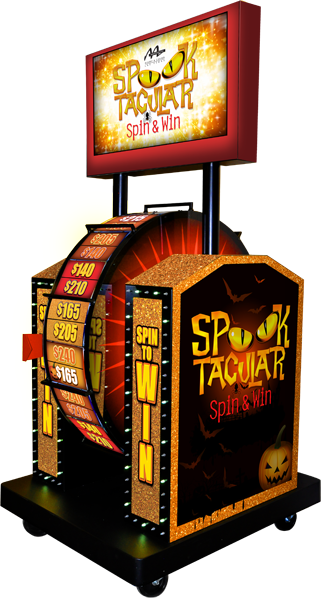 Spooktacular Super Prize Wheel Promotion
