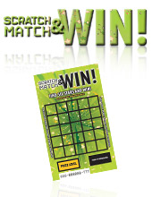 Scratch, Match & Win - Green