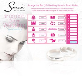 Deam Wedding Web Game