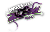 Mardi Gras Zoom Ball