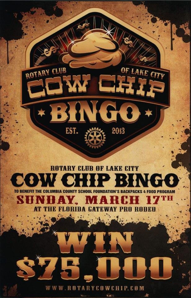Cow Bingo Rotary Club Raises Bucks For Local Non Profit