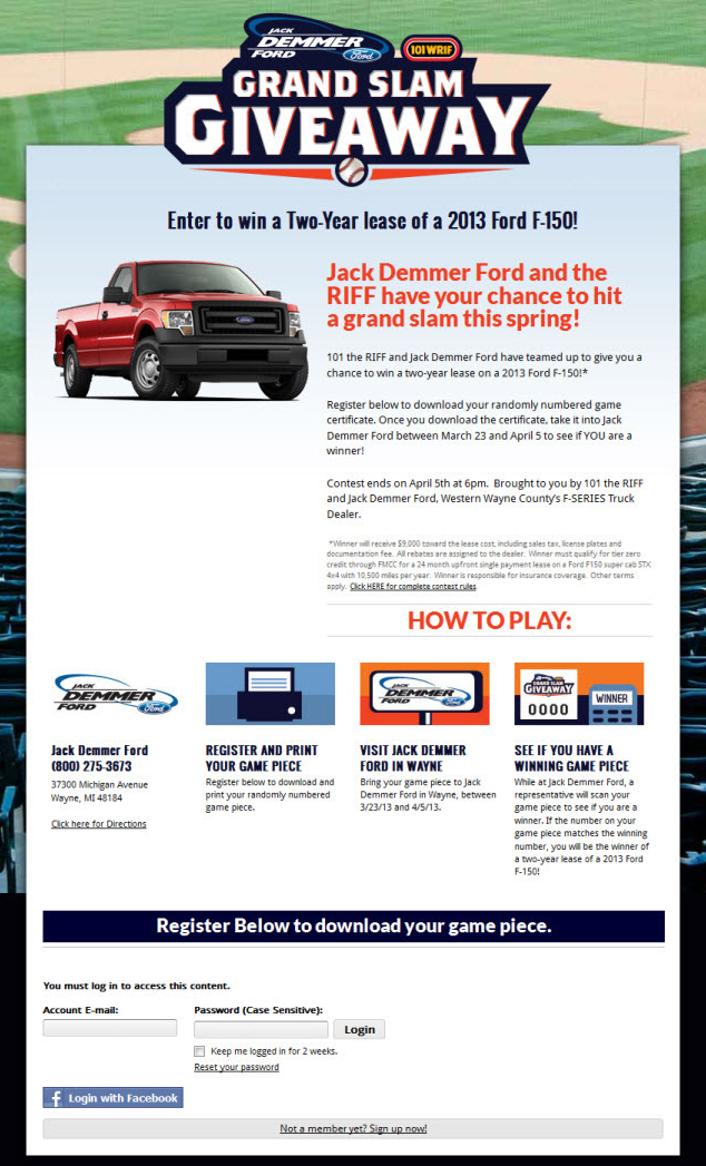 What Are The Odds Of Winning A Car Dealership Contest