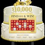 Wedding Themed Video Scratch & Win