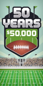 50 Years, $50,000 Party!