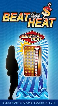 casino summer floor promotion - beat the heat