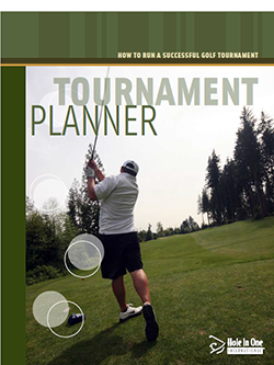 golf tournament sponsorship - planning guide