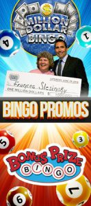 bingo contest winner - frances slesinsky