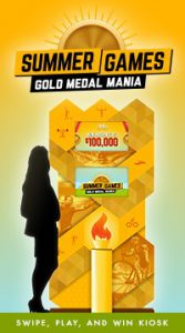 olympic-themed casino promotion - gold medal mania