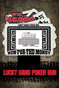 motorcycle dealer promotions - lucky hand poker run